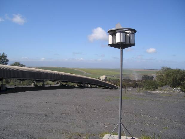 DustWatch - Dust Bucket Unit - Fallout Dust Monitoring Specialists. Dust Monitoring Equipment, Training and Services